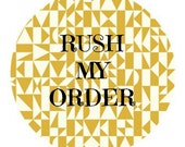 RUSH my car seat cover order ADD ON