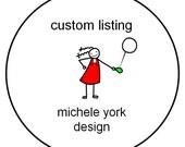 Custom Order for Dawn Weber (laughinggnomes)