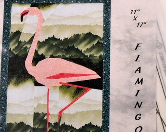 Flamingo Foundation Quilting   Pattern Complete