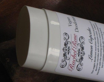Lemon Cupcake - Vegan Deodorant Stick 2.5oz