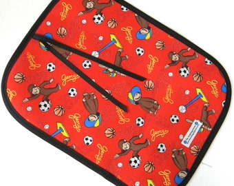 Chalkboard Mat - Sports Curious George