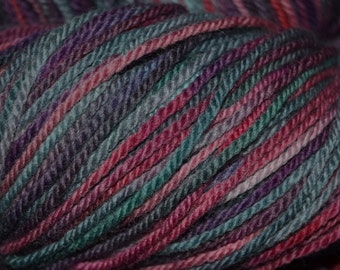 Merino Wool 3ply Flower Garden 4.1oz