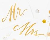 Mr. & Mrs. Prints - Set of 2