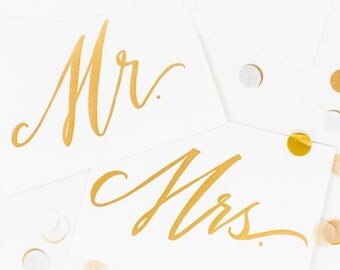 Mr. & Mrs. Prints - Set of 2