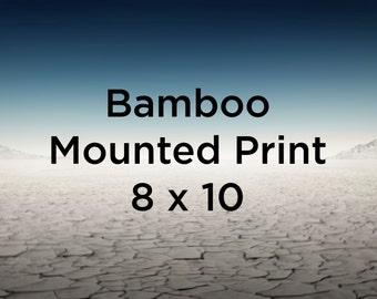 Bamboo Mounted Print - 8 x 10