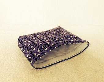 Eco Bag-Medium-Purple/Black/White (Eco 46-M)