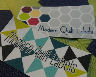 Large Quilt or Sewing Themed Labels