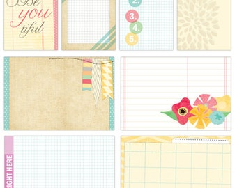 Elle's Studio Serendipity Large and Medioum Journaling Tags