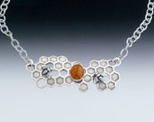 Large Honeycomb Necklace