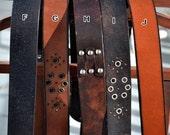 Leather Belt Strap ONLY - Black or Brown