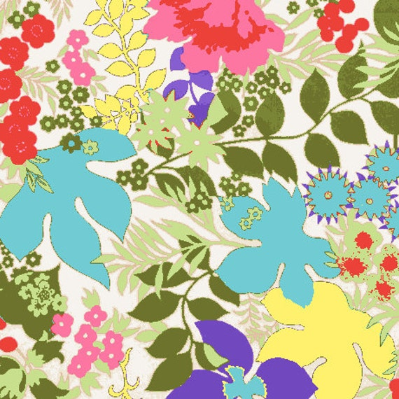 Dollhouse Miniature Modern WALLPAPER Floral Spring Colors
