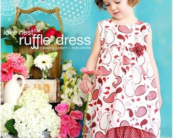 Love Nest Ruffle Dress Sewing Pattern
