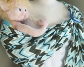 Store Closing SALE!! Blue Ritzy Ring Sling - Long Tail