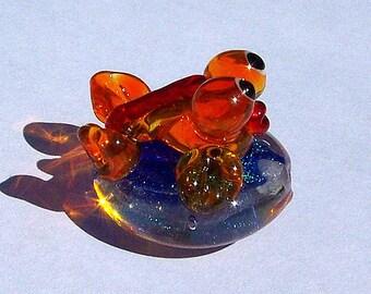 Goldfish Bead - Lampwork Beads - Focal bead
