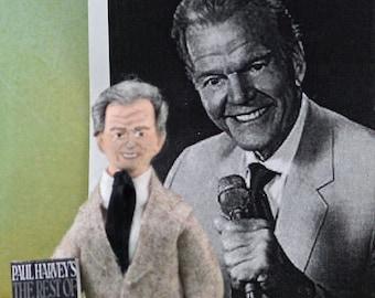 Paul Harvey Doll Miniature Historical Radio Character Art