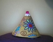 Boho - hippie incense gourd burner