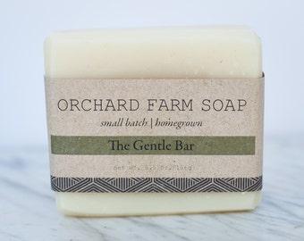 The Gentle Bar// Facial Soap// Gentle Pure Soap