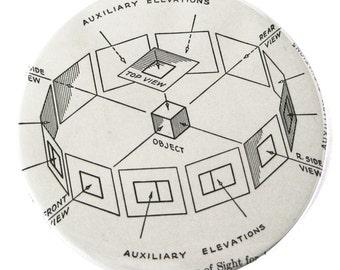 Magnet // Geometry Diagram // Math
