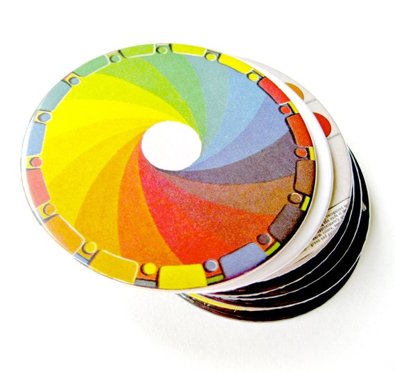 Color Science Coasters // Set of 8