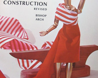 Vintage The Bishops Method of Clothing Construction Book by Bishop Arch