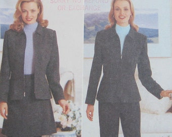 Butterick Jacket Skirt Pants Pattern 4678