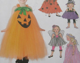 Simplicity Toddlers Halloween Costume Pattern 1768