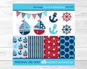 Cute Sailboat Clipart / S...