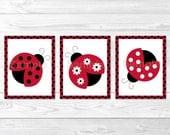 Cute Ladybug Nursery Wall...