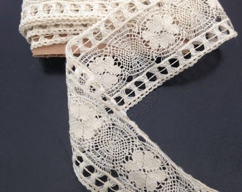 Vintage lace - over 8 yards- Victorian