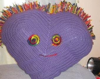 Large Purple Pillow Pal Teacher Mothers Day Birthday Valentine's Day Christmas Children Teen Tween
