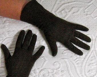 suede gloves . brown gloves . brown suede gloves , Chocolate Brown Suede Gloves