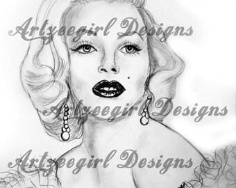 Marilyn Monroe, Print
