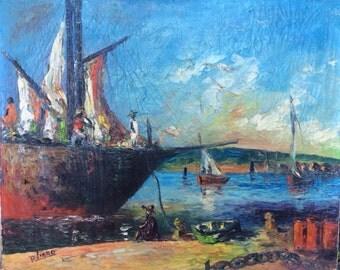 Vintage Raoul Viard Painting