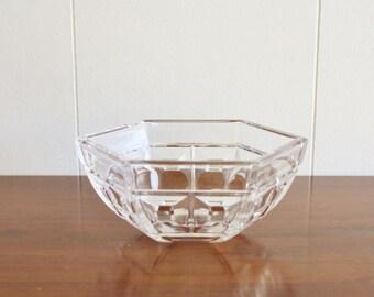 Modern vintage Rosenthal crystal bowl