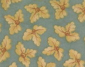 Old Primrose Inn - Moda Fabric - 2645-17 Sea Salt -  Teal - Blackbird Designs - quilting fabric
