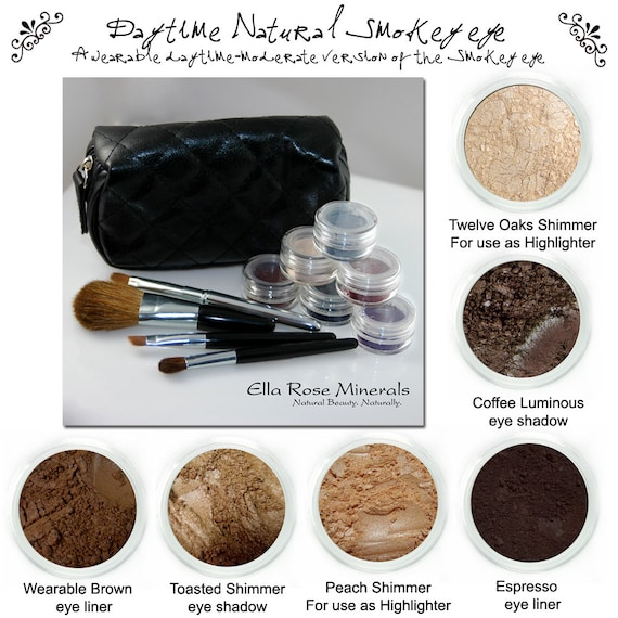 Tutorial Brown Smokey Eye.  Multiple looks, one awesome kit.