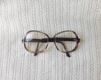 Vintage Diane Von Furstenberg Tortoise Eyeglass Frames.