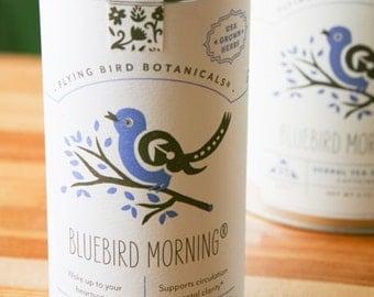 0404 Bluebird Morning Organic loose leaf tea