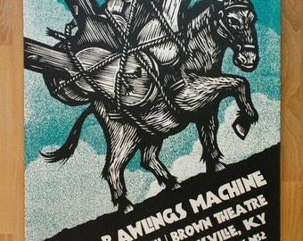 Dave Rawlings Machine Gigposter