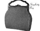 "Vintage Crochet Pattern 1930's Gimp Purse Pattern ""The Simplicity"" -INSTANT DOWNLOAD-"