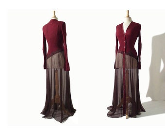 RESERVED - Vintage Jean Paul Gaultier Deconstructed Dress - Asymmetric Avant Garde JPG Dress
