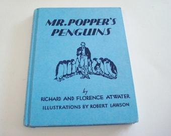 Mr Popper's Penguins Children's Illustrated Book