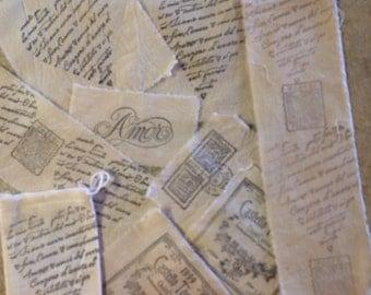 Sampler Pack 9 Italienische Motive   Wein Label   Romantische Italienische  Skript   Italienischen Porto