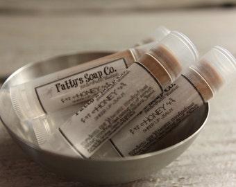 Hunny Honey | Natural Lip Balm | Beeswax Balm | Tinted Lip Balm | Cocoa Butter Lip Balm | Fatty's Soap Co.