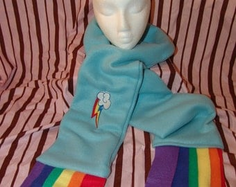MLP DASH Fleece SCARF Pegasus Pony