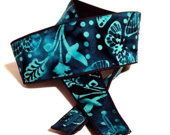 Vegan Mandolin Strap- Midnight Moth- Astyle or Fstyle-LIMITED pattern-butterfly-moth-night-midnight