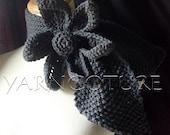 The Lotus - Vintage Inspired Ascot Necktie - Gothic GRAY