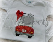 Elephant in Bug Embroidery Applique Design
