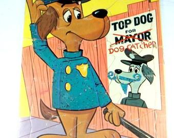 Vintage Children's Tray Puzzle, Top Dog, Dog Catcher  (415-14)