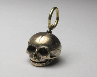 bronze skull embryo small